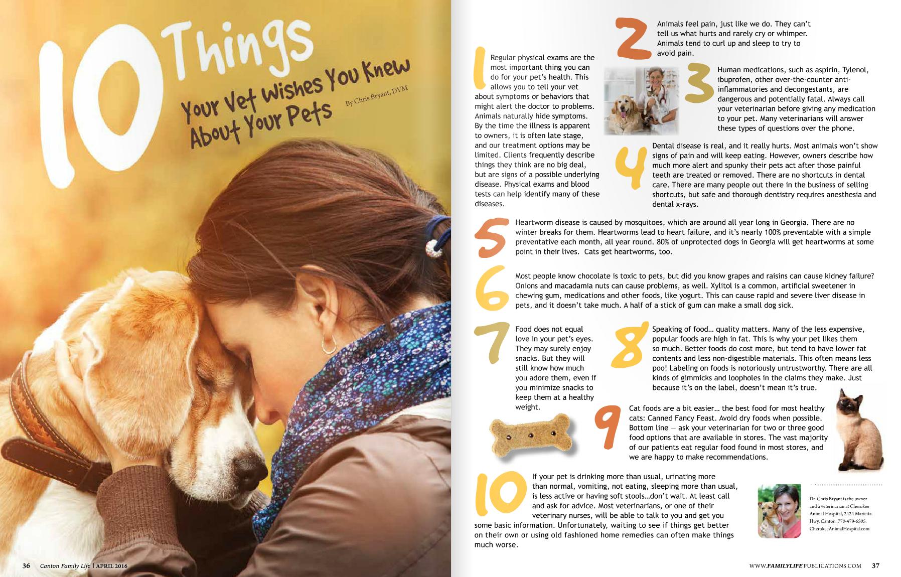Veterinary Care Canton Vet Tips