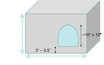 CHAOS liter box dimensions